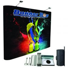 Portable backdrop, back wall, presentation, event, stage background