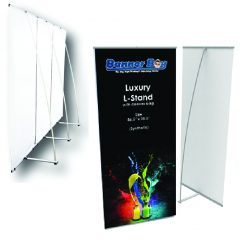 Luxury L-Stand, backdrop, LStand, stage, poster