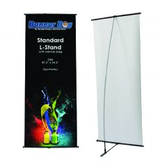 L-Stand cheap Lstand murah exhibition accessories