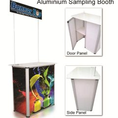 Product Sampling Counter, Sampling Booth, Promotion Counter, Portable Booth, Sales Kit