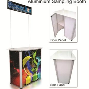 Aluminium Sampling Booth