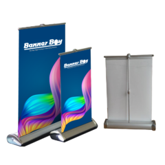 Mini Rollup Stand / Table Rollup Bunting / Table Stand / Front Desk Notice Board