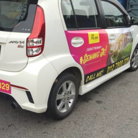 Mobile Advertisement, Car Advertisement, Car Sticker, Car Wrapping
