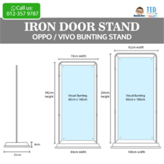 Door Stand / Oppo Bunting Stand / Vivo Bunting Stand